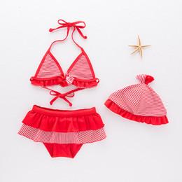 $enCountryForm.capitalKeyWord Australia - 2-7 Years Summer Cute Swimming Suit Toddler Kid Baby Girls Red Bikini Set Children's Swimwear Swimsuit