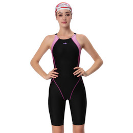 Chinese  Yingfa Swimwear Women One Piece Competitive Swimsuit Girls Sport Sharkskin Racing Competition Swimming Suits Female Bathing Suit C19030201 manufacturers