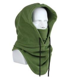 Beanies For Winter Australia - Naiveroo Fleece Beanies Hats For Men Women Skull Bandana Neck Winter Warmer Balaclava Snowboard Face Forces Mask Special