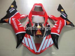 Fairing Red For Yamaha R1 Australia - 100% Fitment. Hot sale Injection molding fairing kit for YAMAHA R1 2002 2003 red white black fairings YZF R1 02 03 HD25