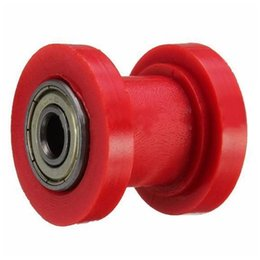 tensioner chain Australia - 8mm 10mm Tensioner Wheel Bike Motorcycle Slider Roller Pulley Pit Dirt Guide Chain