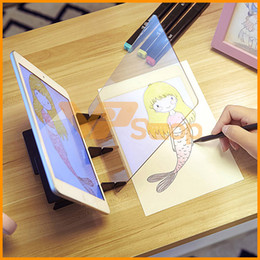 toys for 13 years boys 2020 - Tracing Drawing Board Projector Painting Sketch Drawing Mirror Tracing Table Reflection Light Image Projection Plotter f