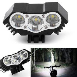 $enCountryForm.capitalKeyWord NZ - High Quality 7500 Lumen 3X T6 LED Zoom Mini Torch LED Cycling MTB Road Bike Front Head Bicycle Lights With Mount