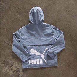 $enCountryForm.capitalKeyWord Australia - Men Designer Jacket Autumn Top Brand Sportswear For Men Women Couple Hood Casual Zipper Windbreaker Letter Embroidery Printed Size M-XL #164