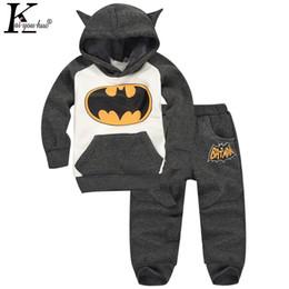 $enCountryForm.capitalKeyWord Australia - Kids Clothes Girls Sport Suit 2019 Autumn Boys Clothes Sets Batman Costume Outfit Suit Boys Tracksuit For Girls Clothing Sets