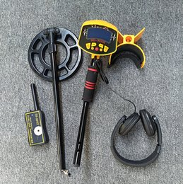 underground searching gold NZ - Underground Metal Detector MD-3010 II Earphone 10 Hand-held Treasure Exploration Instrument for Gold, Silver, Copper and Coin in Old Beach H