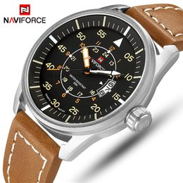 top fashion luxury watches Australia - NAVIFORCE Top Luxury Brand Sports Watches Men Fashion Quartz Date Clock Male Waterproof Army Military Watch Relogio masculino SH190929