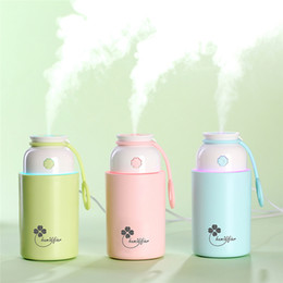 Fog humidiFier online shopping - Lucky grass humidifier home office silent fog spray meter colorful night light air conditioning room hydrating creative gifts
