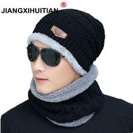 $enCountryForm.capitalKeyWord Australia - 2019 Hot Winter Hats Skullies Beanies Hat Winter Beanies For Men Women Wool Scarf Caps Balaclava Mask Gorras Bonnet Knitted Hat