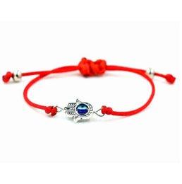 Yoga Om Ohm Hamsa Charm Card Bracelets Fatima Hand Evil Eye Peace Purple Yellow Wax Cord Women Men Girl Boy Jewelry Gift Easy And Simple To Handle Bracelets & Bangles Jewelry & Accessories
