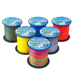 Japan Fishing Lures Wholesale Australia - Lure fishing line As gift 100M 6-100LB PE multifilament sea super braided japan strong fishing line carp fishing for fish rope cord