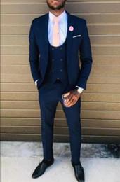 Costumes for singers online shopping - 2019 Singer Stage Costume Mens Suit Slim Fit Pieces Tuxedo Groom Groomsman Custom Men Suits For Wedding Kingsman Blazer Tux