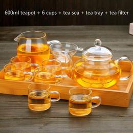 Scroll Lights Australia - 250 ml   400 ml   600 ml of Pyrex glass set of light tea Kung Fu tea teapot Tea filter