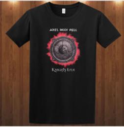 Guitar Fashion Australia - 2019 Fashion Axel Rudi Pell Heavy Metal Guitar Player Steeler T Shirts Men Women Short Sleeve 3D Print Shirt Summer Streetwear Tops U1786