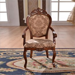 Italian Style Tables Australia - hot selling Antique Style Italian small table, 100% Solid Wood Italy Style Luxury chairs o1125