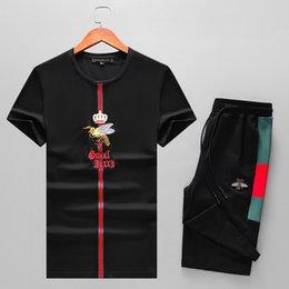 Опт 2019 лето новая футболка с короткими рукавами европейская и американская мода мужская уличная хип-хоп высококачественная красно-зеленая полосатая футболка футболка shi6871