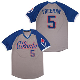 $enCountryForm.capitalKeyWord Australia - Men #5 Freddie Freeman weekend m&n 1974 Turn Back blue red white grey Stitched Atlanta Baseball Jerseys