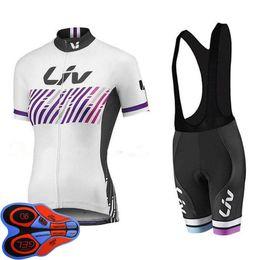$enCountryForm.capitalKeyWord NZ - 2019 LIV Team women Cycling jersey suit summer short sleeve shirt bib shorts set bicycle clothing mtb bike uniform ropa ciclismo