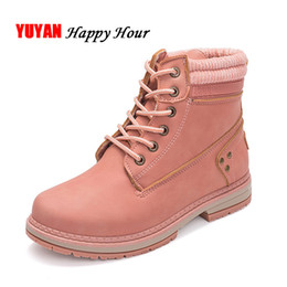 Discount rubber outsole shoes - Cold Winter Shoes Women Snow Boots Fashion Plush Warm Shoes Women's Boots Brand Woman Ankle Botas Hard Outsole A371