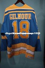 651952e14ea Cheap custom St. Louis Blues Doug Gilmour Rookie Jersey Auto CCM  Personalized customization Men s Retro ice Hockey jersey