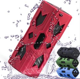 nfc power bank waterproof bluetooth Australia - PT-390 New Outdoor Waterproof Wireless Bluetooth 4.0 NFC Speakers Stereo Charger Function Power Bank Subwoofer bluetooth speaker 20pcs DHL