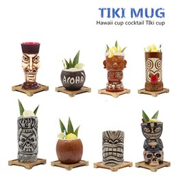 $enCountryForm.capitalKeyWord Australia - Free Shipping Hawaii Tiki Mugs Cocktail Cup Beer Beverage Mug Wine Mug Ceramic Tiki Mugs Great For Cocktail Drink