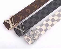 tiger head belt NZ - Brand designer belt mens senior tiger head belts new fashion casual cowhide belts for men waist belts