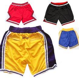 Calções novos homens azul vermelho branco don preto amarelo todos os homens de calças de tamanho S-XXL