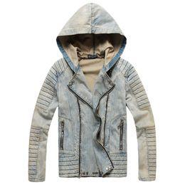 $enCountryForm.capitalKeyWord Australia - 19fw Brand denim jacket men luxury Ba lmain designer jacket Euro US Genuine Slim fit couple coat high quality trend Hooded leisure coat