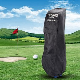 flight cases 2020 - Pgm Golf Bag Cover Nylon Waterproof Flight Travel Golf Bag Cover Dustproof with Rain Case for Storage discount flight ca