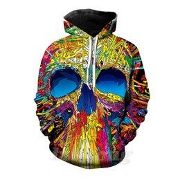 Tees Hoodies Australia - skull 3d print hoody tee shirt sweatshirt hoodie pants men harajuku funny pullover streetwear hip hop tracksuit tops