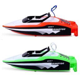 $enCountryForm.capitalKeyWord NZ - RC Racing Boat Remote Control Speedboat 2.4GHz Rechargable Mini Electric RC Boat Boy Gift Kid Toy