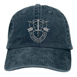 $enCountryForm.capitalKeyWord Australia - 2019 New Designer Baseball Caps US Special Forces Insignia Mens Cotton Adjustable Washed Twill Baseball Cap Hat