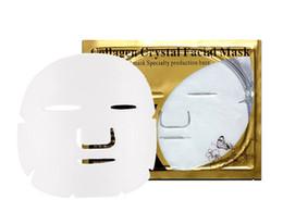 $enCountryForm.capitalKeyWord Australia - Hot sale Gold Bio Collagen Facial Mask Face Mask Crystal Gold Powder Collagen Facial Mask Sheets Moisturizing Beauty Skin Care Products