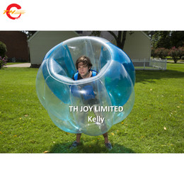 $enCountryForm.capitalKeyWord Australia - 11pcs per lot inflatable football bumper balls for sale commercial durable pvc human bubble ball outdoor soccer bubble bumper balls price