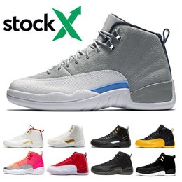 Hot cuts online shopping - Stock X Basketball shoes for men women Designer mens Wolf Grey Reverse Taxi Michigan Hot Punch Game Royal Sport Trainer Shoes