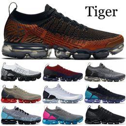 zebra light 2019 - 2019 Knit 2.0 Running Shoes Men Women Tiger Pack Zebra Black White Metallic Gold Designer Shoes Sport Sneakers Trainer U