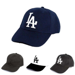 China 2019 New Letter Baseball Caps La Dodgers Embroidery Hip Hop Bone Snapback Hats For Men Women Adjustable Gorras C190420 cheap wholesale ball caps for embroidery suppliers