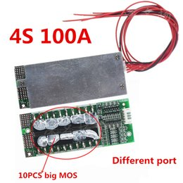 charger battery protection board Canada - heap Battery Accessories 4S 12V 100A Protection Circuit Board Lifepo4 Bms 3.2V With Balanced Ups Inverter Energy Storage Packs Charger Ba...