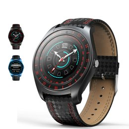 $enCountryForm.capitalKeyWord Australia - V10 Smart Watch Men with Camera Bluetooth Smartwatch Pedometer Heart Rate Monitor Sim Card Wristwatch for Android Phone