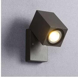 fold wall lamp Canada - Folding LED Outdoor Lighting Wall Light Lamp Exterior Outside Porch light Waterproof