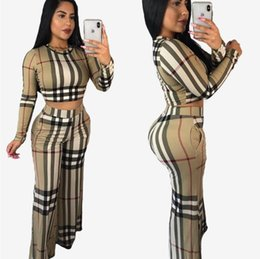 154a60e0c2b3 Autumn Two Piece Set Sexy Skinny Pants Crop Top Women Sets Summer  Sportsuits Bodycon Outfits Set Tracksuits Clubwear