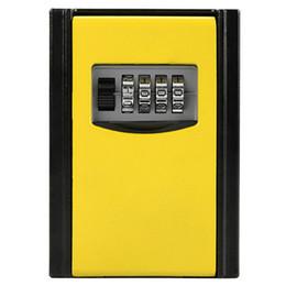 Modern Key Australia - 4 Digit Combination Wall Mount Key Storage Secret Box Storage Box Password Key Organizer Case