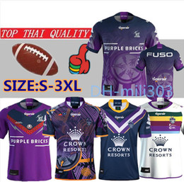 Storm Shirt online shopping - 19 melbourne storm rugby Jersey Commemorative Edition shirt National Rugby League MELBOURNE STORM ANZAC rugby jersey size S XL