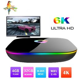 Best Media Player Android Australia - 1 PCS Best sellers Q plus Smart Android 9.0 TV Box 4GB 32GB Allwinner H6 1080P H.265 4K Media Player 2.4G Wifi Wireless Set Top Box