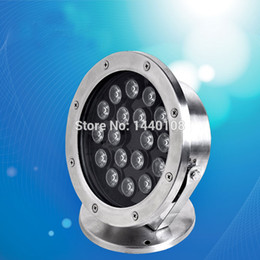 underwater lights 3w Australia - 3W 5w 6w LED Underwater Light For Swimming Pool Or Fountain, Single Color, Stainless Steel IP 68 Protection.10pcs lot