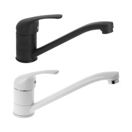 Kitchen Rotating UK - Kitchen Faucet Rotating Hot And Cold Mixer Water Tap Filter Hotel Household