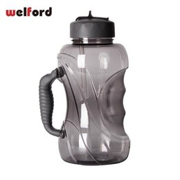 Handle Free Mugs NZ - 1500ml Large Capacity Water Bottle With Straw And Handle Leak-proof Cap Plastic Big Outdoor Sports Bpa Free Mug Cup Q190525
