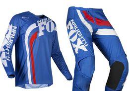 $enCountryForm.capitalKeyWord Australia - NEW 2019 NAUGHTY Fox Mens Blue White 180 Cota Dirt Bike Jersey & Pants Kit Combo Adult Motocross Gear Set MX ATV Dirt Bike