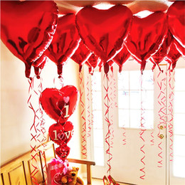 $enCountryForm.capitalKeyWord Australia - 18 Inch Foil Balloon Wedding Decoration Valentine's Day Party Decorations Heart Shaped Balloons Colorful Balloons Star Shaped